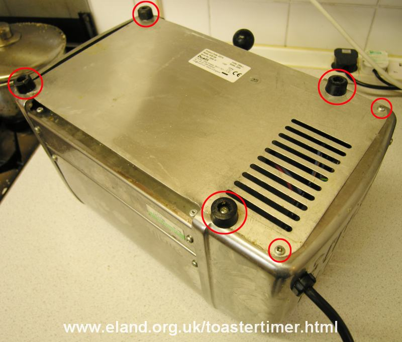 Dualit Toaster Timer Replacement How To With Pictures